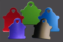 Fire Hydrant Dog Tags for Pets