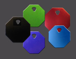 Octagon Pet Tag